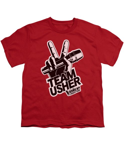 The Voice - Usher Logo Youth T-Shirt by Brand A