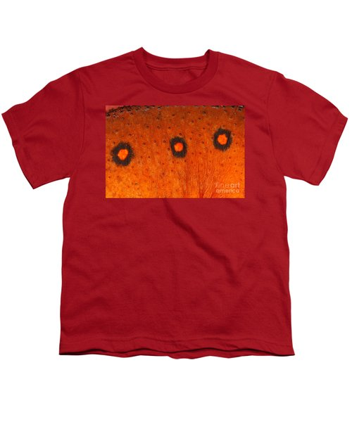 Skin Of Eastern Newt Youth T-Shirt by Ted Kinsman