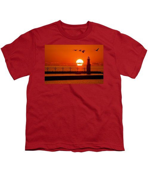 Summer Escape Youth T-Shirt by Bill Pevlor