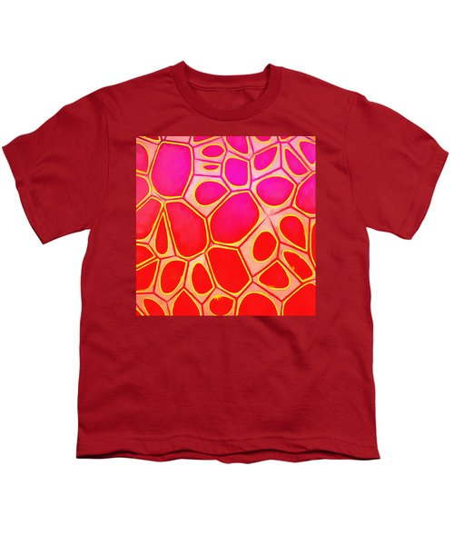 Cells Abstract Three Youth T-Shirt