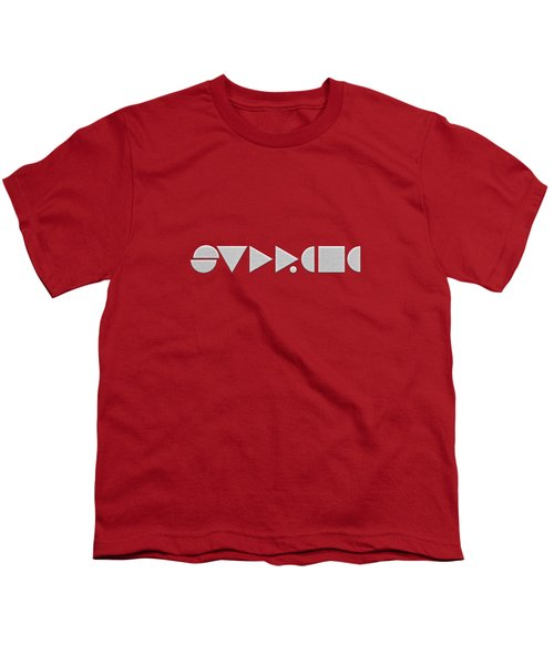 Supreme Being Embroidered Abstract - 2 Of 5 Youth T-Shirt by Serge Averbukh