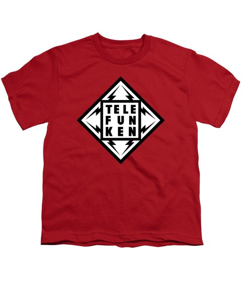 Telefunken Fantastic German Media Company Logo Youth T-Shirt