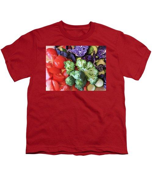 Raw Ingredients Youth T-Shirt by Tom Gowanlock