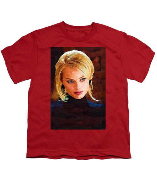 Margot Robbie Painting Youth T-Shirt