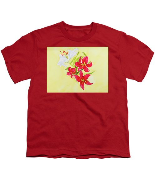 A Study Of Lilies Youth T-Shirt