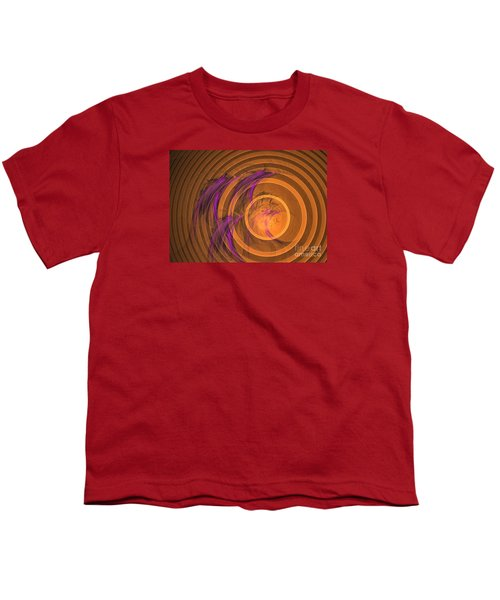 An Echo From The Past - Abstract Art Youth T-Shirt