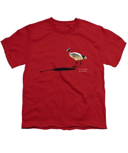 Bribie Island Ibis Youth T-Shirt by Susan Vineyard