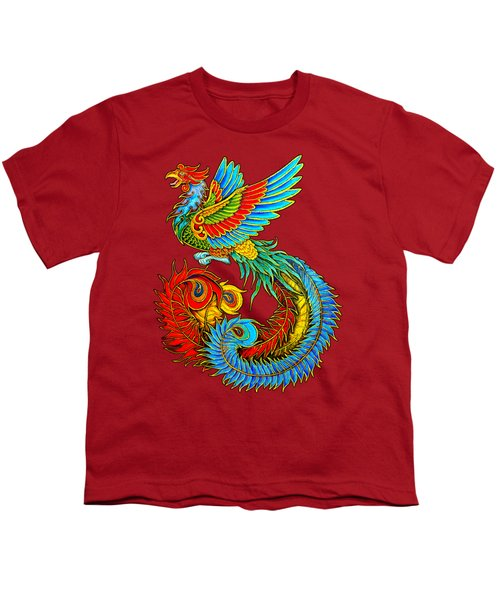 Fenghuang Chinese Phoenix Youth T-Shirt