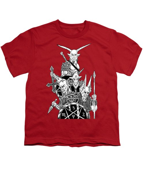 The Infernal Army White Version Youth T-Shirt