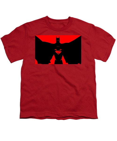 Batman/superman Youth T-Shirt