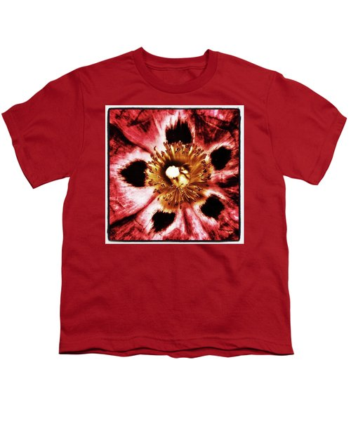 Youth T-Shirt featuring the photograph Can You Guess What Flower? Hints: It's by Mr Photojimsf