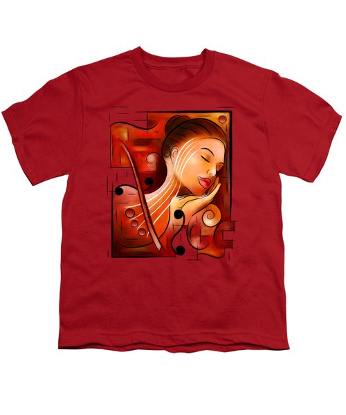 Casselopia - Violin Dream Youth T-Shirt
