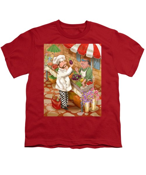 Chefs Go To Market I Youth T-Shirt