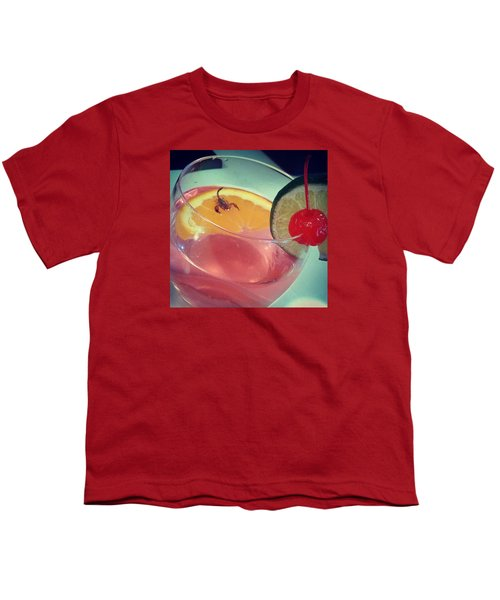 Cocktail With A Bite Youth T-Shirt