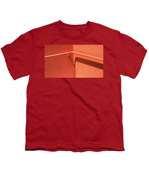 Colors And Shadows Cornered Youth T-Shirt