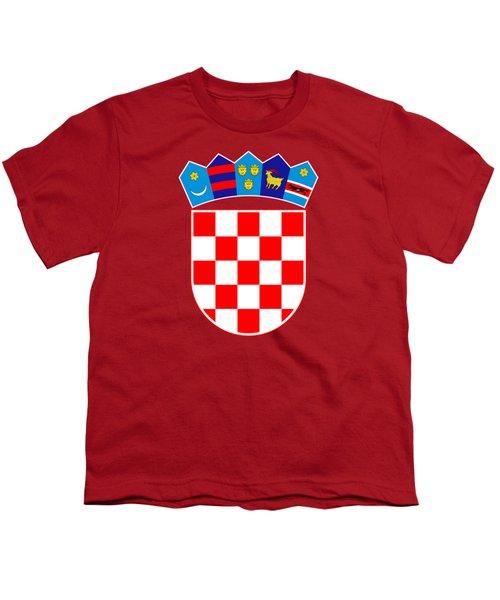 Croatia Coat Of Arms Youth T-Shirt