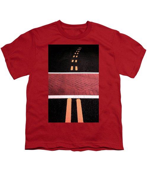 Crosswalk Conversion Of Traffic Lines Youth T-Shirt