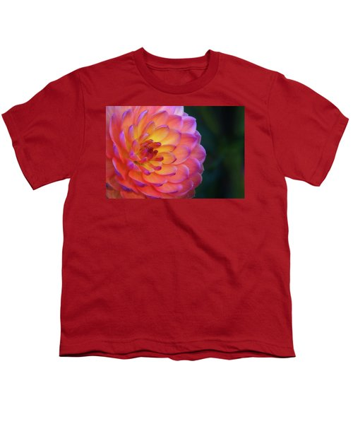 Dahlia Portrait Youth T-Shirt
