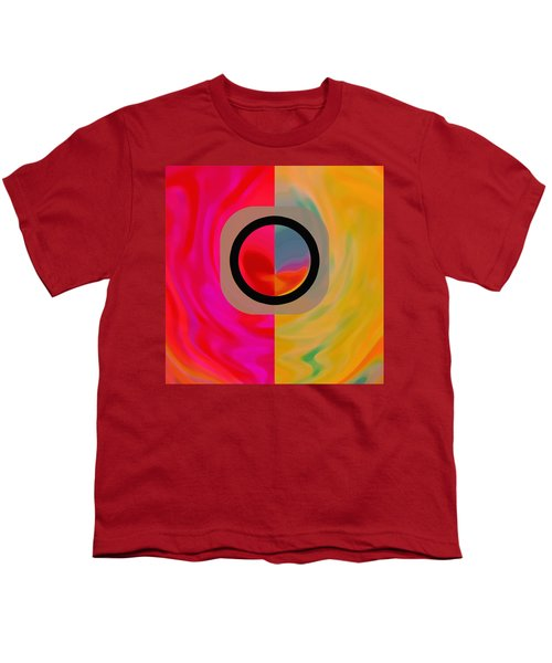 Youth T-Shirt featuring the digital art Dualism by Mihaela Stancu