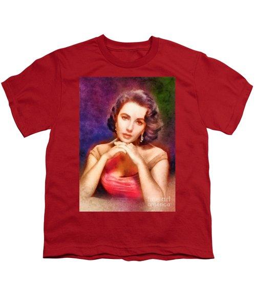 Elizabeth Taylor, Vintage Hollywood Legend Youth T-Shirt