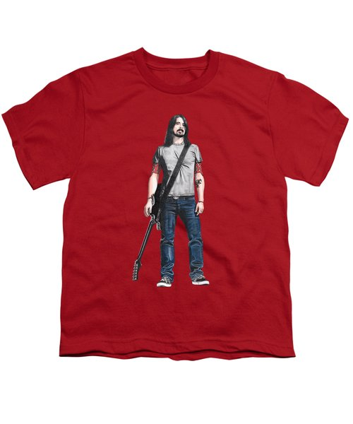 Extraordinary Hero Cutout Youth T-Shirt