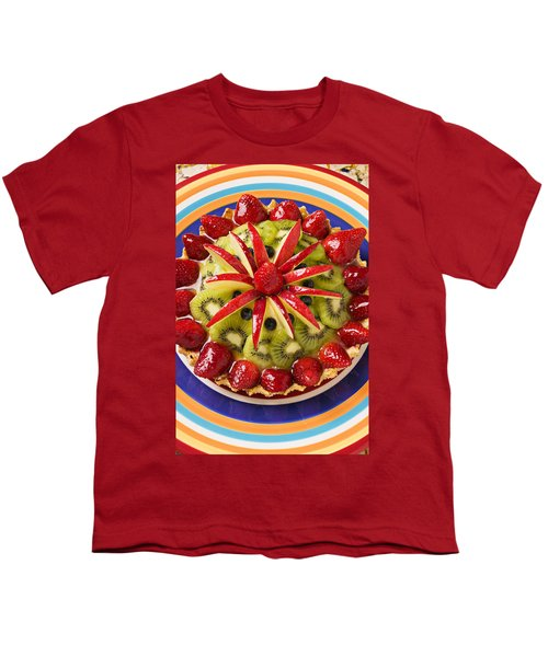 Fancy Tart Pie Youth T-Shirt by Garry Gay