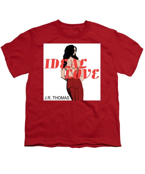 Youth T-Shirt featuring the digital art Ideal Love Cover by Jayvon Thomas
