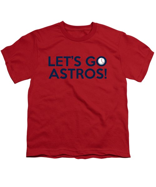 Let's Go Astros Youth T-Shirt