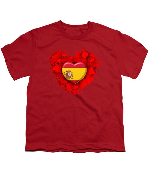 Love Spain Youth T-Shirt