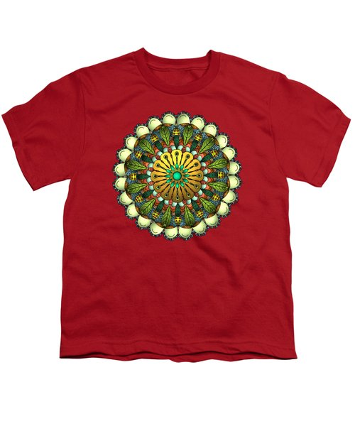 Metallic Mandala Youth T-Shirt