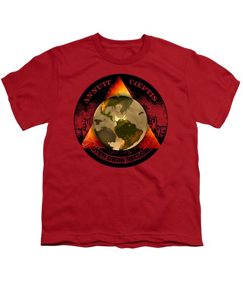 New World Order By Pierre Blanchard Youth T-Shirt by Pierre Blanchard
