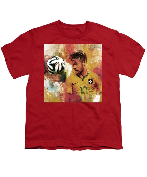 Neymar 05d Youth T-Shirt by Gull G