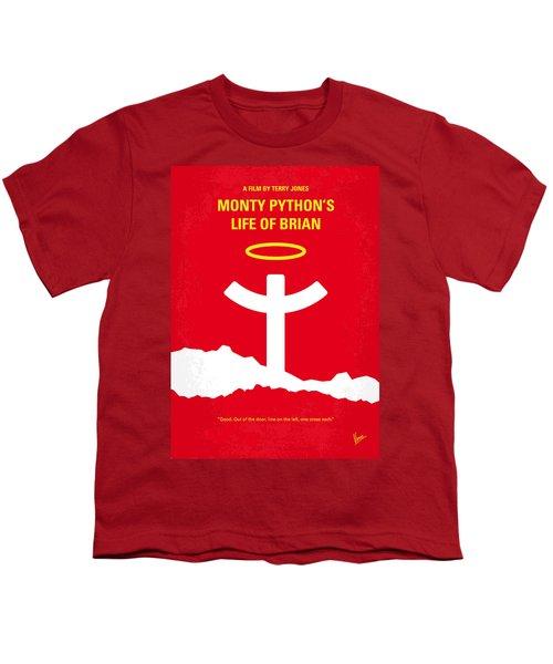 No182 My Monty Python Life Of Brian Minimal Movie Poster Youth T-Shirt