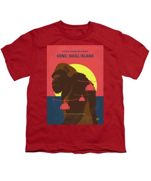 No799 My Skull Island Minimal Movie Poster Youth T-Shirt