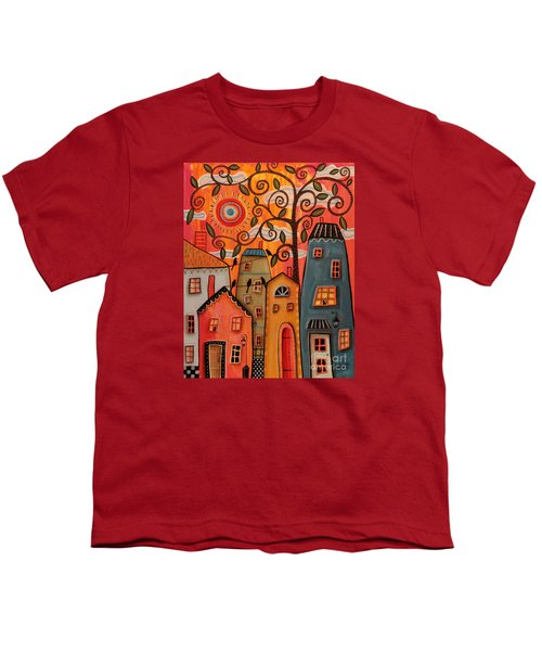 One Afternoon Youth T-Shirt by Karla Gerard