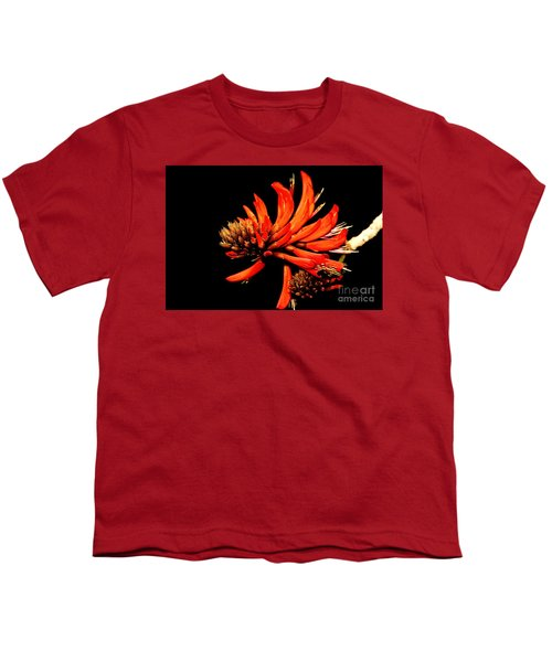 Youth T-Shirt featuring the photograph Orange Clover II by Stephen Mitchell