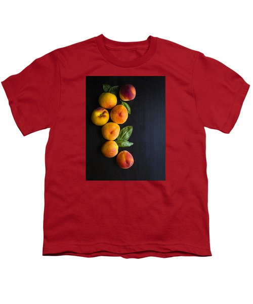 Peaches And  Basil Youth T-Shirt