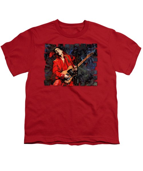 Prince Abstract Cut Youth T-Shirt