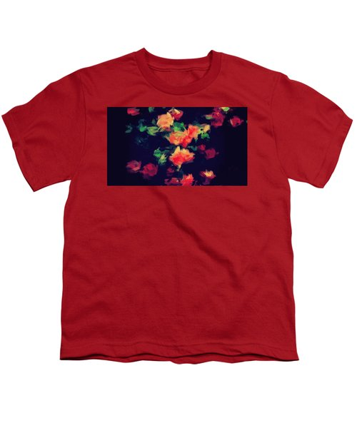 Roses Youth T-Shirt by Wolfgang Rain