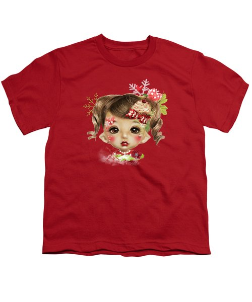 Sabrina - Elf  Youth T-Shirt by Sheena Pike