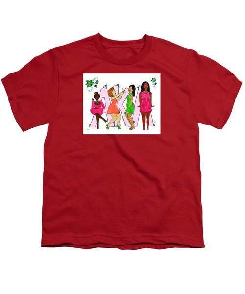 Skee Wee My Soror Youth T-Shirt by Diamin Nicole