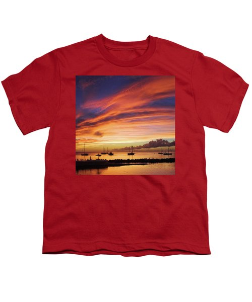 Store Bay, Tobago At Sunset #view Youth T-Shirt