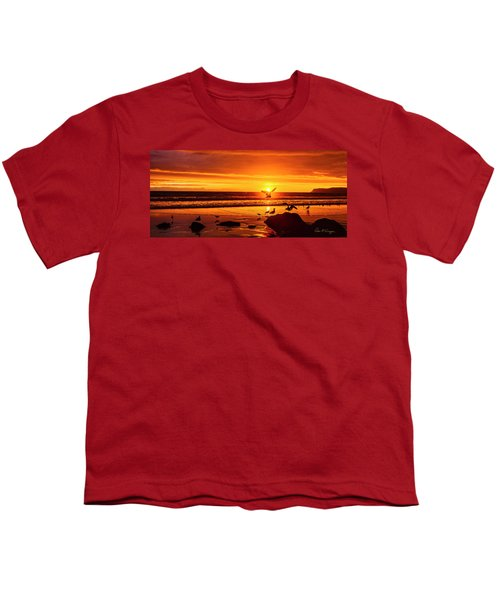 Sunset Surprise Pano Youth T-Shirt