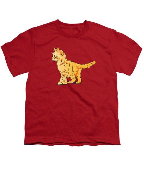 Tabby Kitten Youth T-Shirt