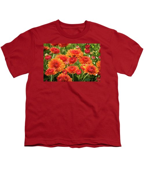Youth T-Shirt featuring the photograph The Fall Bloom by Bill Pevlor