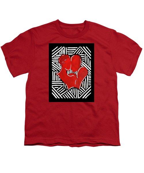 The Kiss Youth T-Shirt by Diamin Nicole