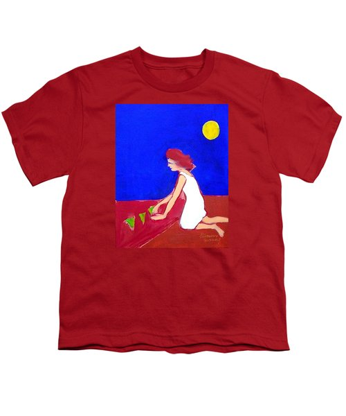 Youth T-Shirt featuring the painting The Planting by Winsome Gunning