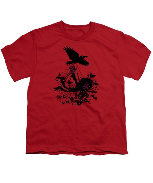 To The Sky Youth T-Shirt by John Schwegel