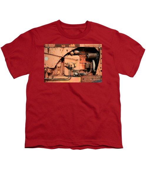 Youth T-Shirt featuring the photograph Tractor Engine V by Stephen Mitchell