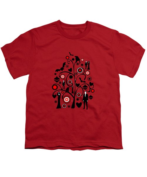 Vampire Art Youth T-Shirt